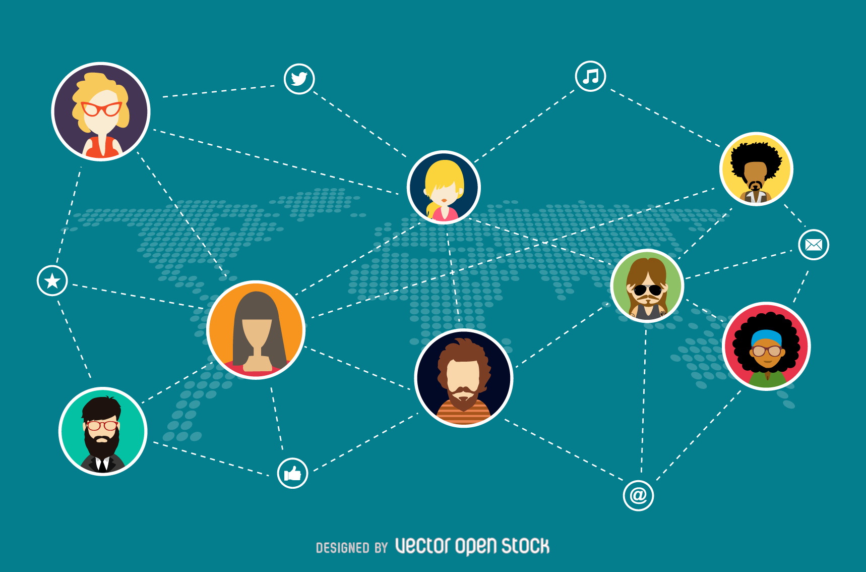 social-network-illustration